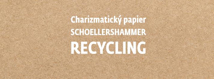 SH Recycling – charizmatický papier