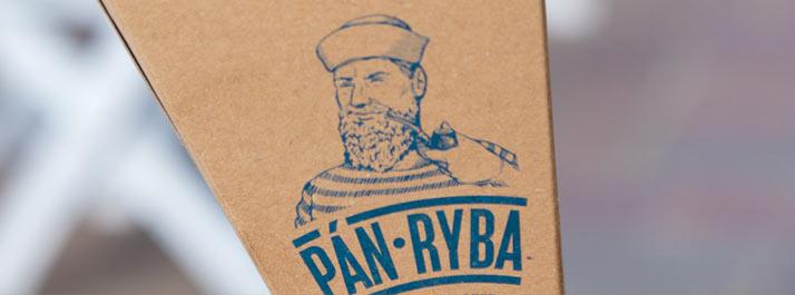 Štýlová take-away krabička pre Pána Rybu