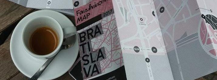 Tlačili sme prvú Fashion Map Bratislavy