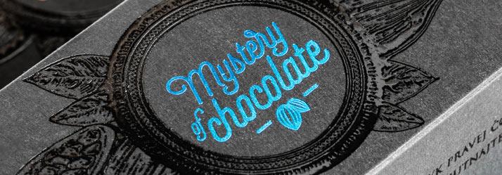 Luxusný obal na čokoládu