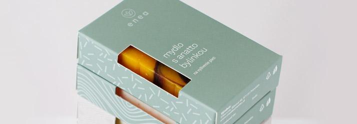 Dizajnový obal na kozmetiku Enea