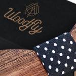 Darčekový obal na drevené motýliky Woodfly