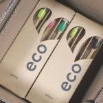 2. ekologický obal na kefky Eco Heart